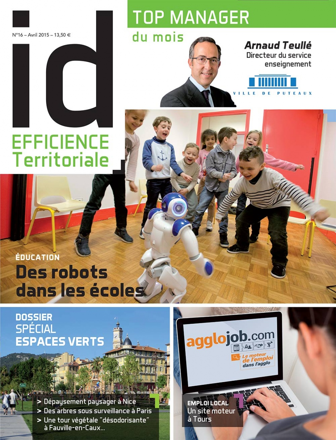 Magazine Id Territoriale #16 avril 2015