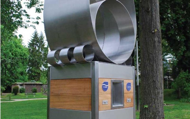 id territoriale une fontaine publique d eau gazeuse c est fou. Black Bedroom Furniture Sets. Home Design Ideas