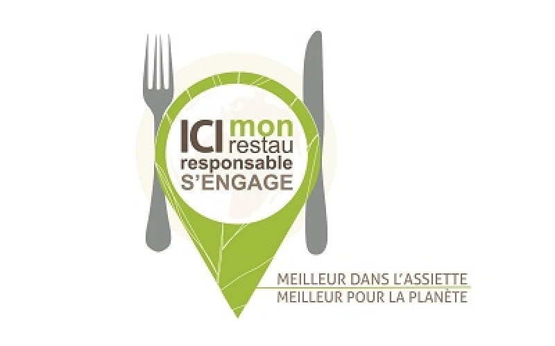 label Mon restau responsable